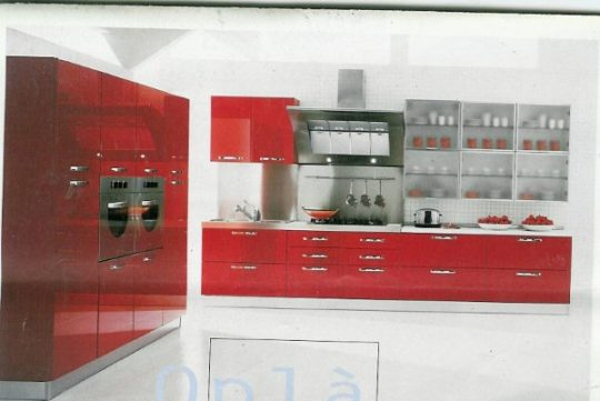 kitchen polyester red – Copy