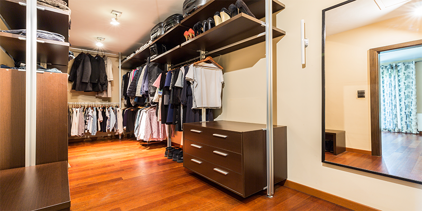 Walk-in-1 Walk in Wardrobes