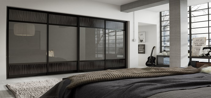 Pencil-Line-Dark-Slate-Grey-Mirror-Gloss-Copy Sliding Wardrobes
